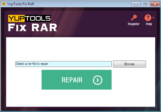 Revolutionary tool to repair corrupt RAR file