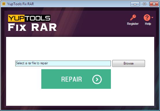 Revolutionary tool to repair corrupt RAR file